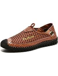 Men's Driving Shoes Fashion Comfortable Loafers Men Slip...