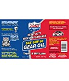 Lucas LUC10043 Oil SAE 80W-90 Heavy Duty Gear Oil - 1 Quart