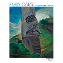 Emily Carr 2019 Wall Calendar (English and French Edition)