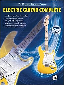 ultimate beginner electric guitar complete book dvd hard case the ultimate beginner. Black Bedroom Furniture Sets. Home Design Ideas