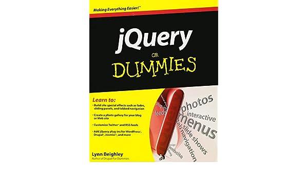 JQuery For Dummies (For Dummies Series): Amazon.es: Lynn Beighley, Cody Lindley: Libros en idiomas extranjeros