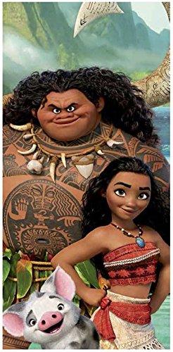 Disney Polynesia Moana Clubhouse Fiber Reactive Beach Towel - Maui Moana Pua