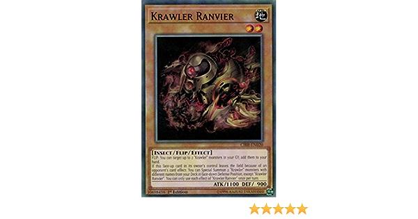 KRAWLER RANVIER Details about  /YU-GI-OH CARD CIBR-EN020