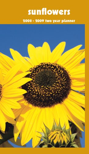Sunflowers 2008-2009 Pocket Planner Calendar (English, Spanish, French and German Edition)