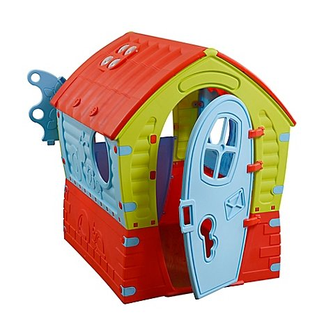 PalPlay Dream Indoor/Outdoor Playhouse in Green/Multi by Pal Play