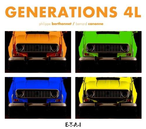 Livre Générations 4L Renault 4