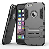 Apple iPhone 6 Plus Case, [Kickstand] 5.5inch iPhone 6 Plus Case [Gun Metal] Rugged Slim Fit Dual Layer Hard Case - Verizon, AT&T, Sprint, T-Mobile, International, and Unlocked