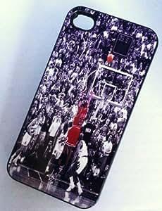 Diycase BLACK cell phone case cover for iPhone 6 4.7 6 4.7 LAST SHOT glLDvSUJqMO JORDAN