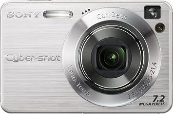 amazon com sony cybershot dscw120 7 2mp digital camera with 4x rh amazon com sony cybershot camera dsc-w120 manual sony dsc w120 manual