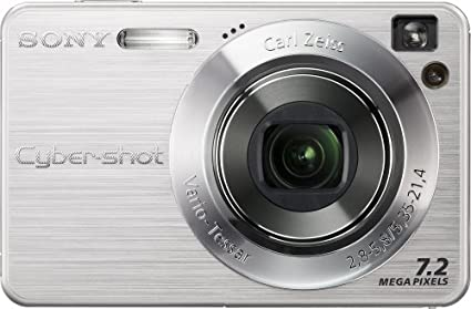 amazon com sony cybershot dscw120 7 2mp digital camera with 4x rh amazon com sony cyber shot dsc w120 instruction manual sony cyber shot dsc w120 manual