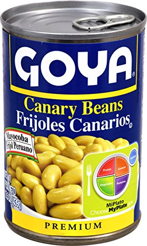 Goya Foods Canary Beans, 15.5 Ounce (Pack of 24)