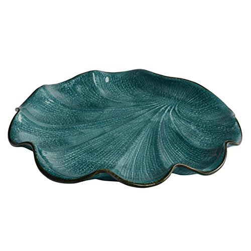 Italian Dinnerware - Round Serving Platter - Handmade in Italy from our Capri Collection Blue Italian Round Platter