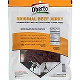 Oberto All Natural Original Beef Jerky, 10 Ounce Bag