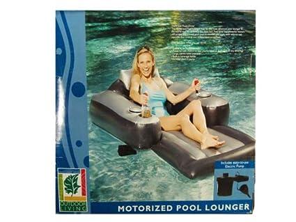 Merveilleux Motorized Pool Lounger