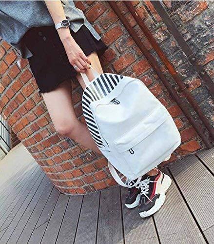 Marcu Home Zainetto Pretty Backpack Fashion Zaino da Viaggio con Zaino Scolastico in Tela da Studente