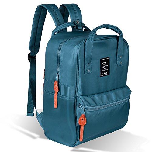 School Backpack,Handy Unisex Laptop Bag, Daypack Travel Bag by FLYNOVA | College, Travel, Hiking, Gym, Business,Fits 15-inch Laptop
