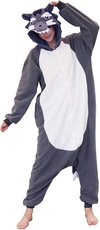 Adult Puppy Dog Costume Mens Ladies Fancy Dress Jumpsuit /& Head NEW M L XL