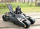 1SET THE DARK KNIGHT BATMAN BATMOBILE TUMBLER BLACK CAR VEHICLES TOYS WITH FIGURE COLLECTION MODEL CHRISTMAS GIFT