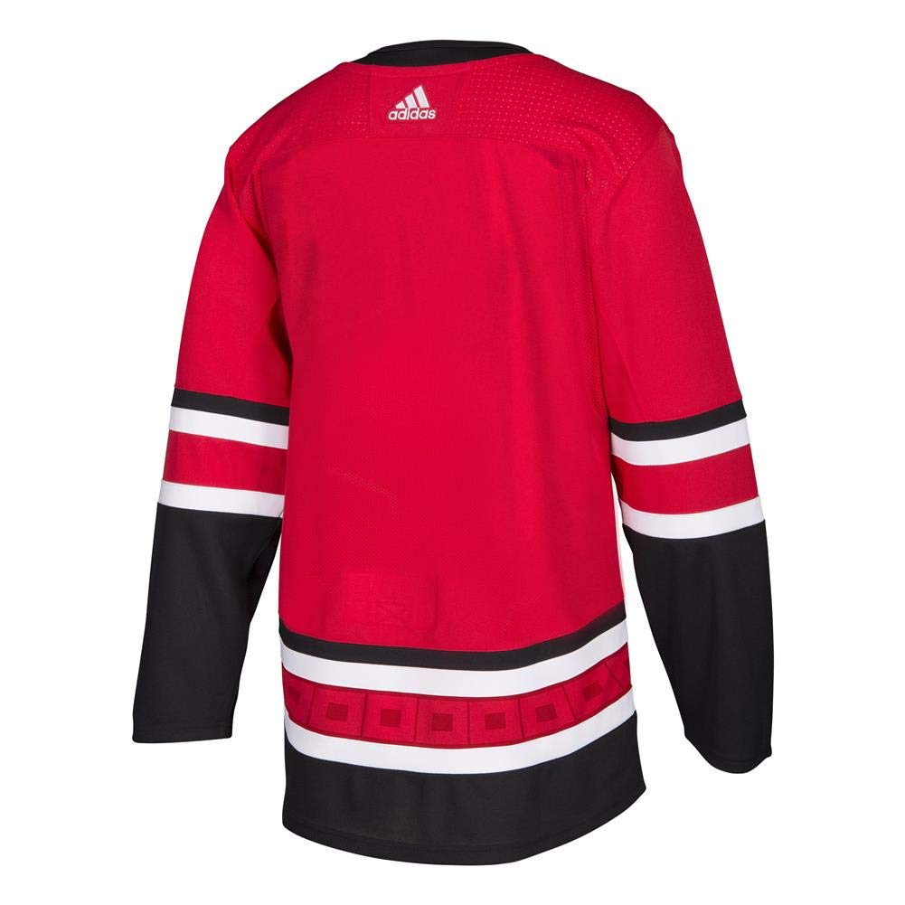 adidas Hurricanes Home Authentic Pro Jersey - Men's Hockey 60 Red/White/Black by adidas (Image #2)