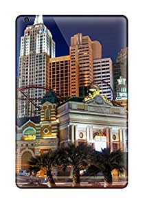 Case Cover Protector Specially Made For Ipad Mini 2 New York New York Hotel Casino