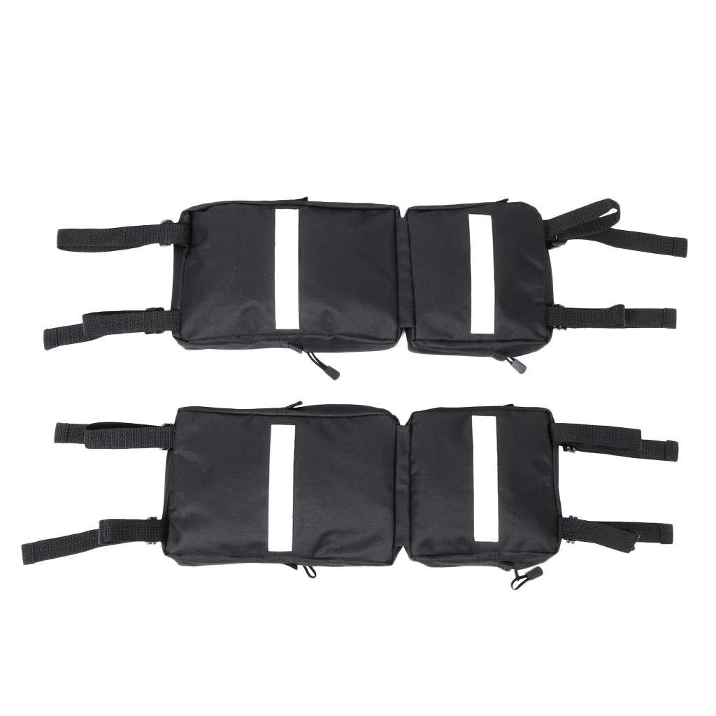Flameer 2pcs ATV Fender Side Bags for ATV UTV 4-Wheeler Universal Mudguard