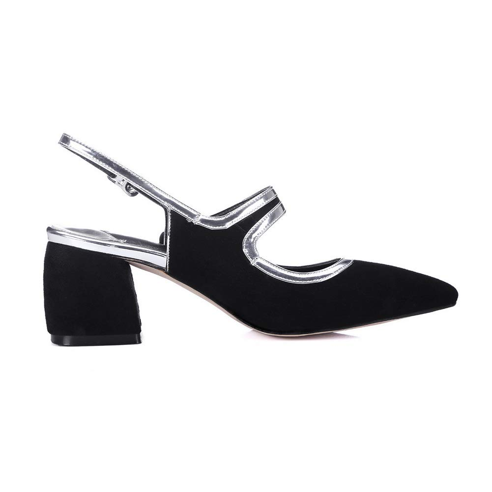 1TO9 Womens Travel Solid Pumps-Shoes Urethane Pumps Shoes MMS06582