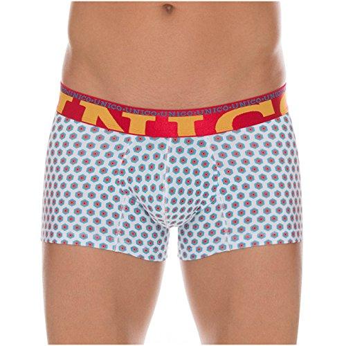 Unico Mens Brief - Mundo Unico Underwear for Men Cotton Short Boxer Briefs Print Calzoncillos Para Hombres Multicolored M