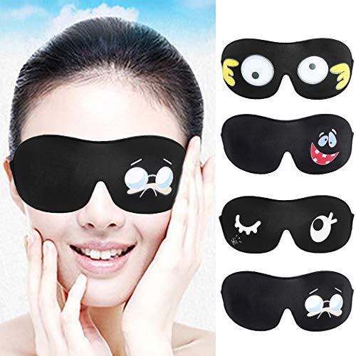 Viso Gli Per Dormire Traspiranti Maschera 3d Sonno Zoylink Eyeglasses Occhio Copertina Il Maschere Occhi 8gvAFfq