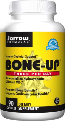- Jarrow Formulas Bone-Up Three Per Day, Promotes Bone Density, 90 Caps