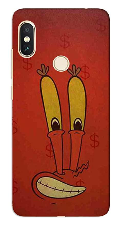 GADGETS WRAP Mr  Krabs Face Printed Case Cover for: Amazon in