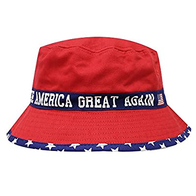 Bd1760 Trump Usa Make America Great Again Bucket Hat 3 Colors