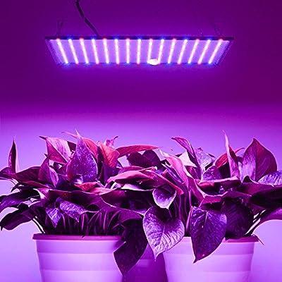 Yescom 225 LEDs Grow Light Panel Hydroponics Room Tent Greenhouse Bulb Ultrathin Lamp