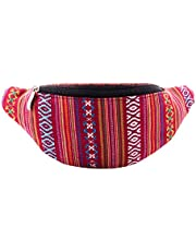 Fanny Waist Pack Rave Bag - Hippie Boho Festival Phanny Bum Packs - Many Colors to Choose from