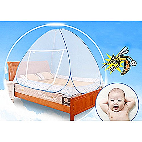 Baby Pop Up Tent Mosquito Netting Canopy Cover for Travel; Foldable Kids Bed Insect Mesh Cover with Carrying (Where Can I Buy Cat Eye Contacts)