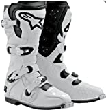 Alpinestars Tech 8 Light Boots , Distinct Name: White, Size: 14, Gender: Mens/Unisex, Primary Color: White 2011011-200-14