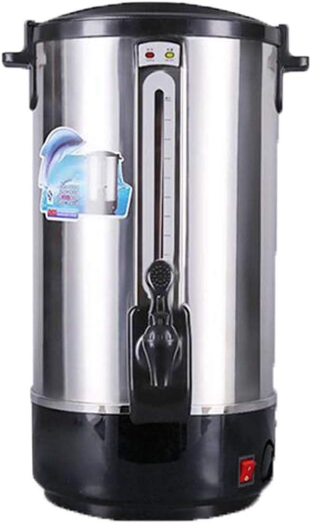 ステンレス断熱バケツ、電気温水バケツ恒温バレル、12L -20L大容量沸騰水バケツレストランホット・ウォーターバレルスープバレル保温バケツ、インテリジェントな温度制御アンチドライ書き込み保護を調理 (Color : Stainless steel, Size : 20L)