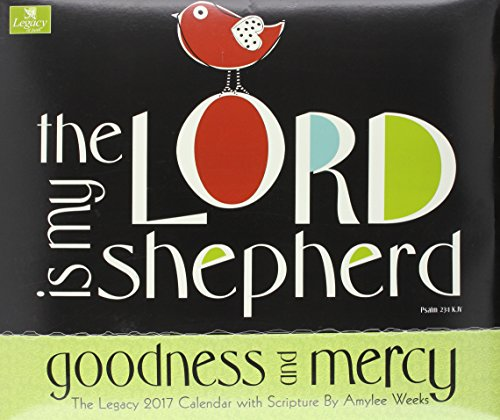 Legacy Publishing Group 2017 Wall Calendar, Goodness & Mercy