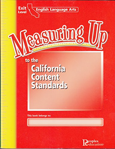 Measuring Up to the California Content Standards: English Language - Hut 33