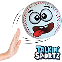 Talkin' Sports Hilariously Interactive Toy Baseball with Music and Sound FX for Kids and Toddlers by Move2Play