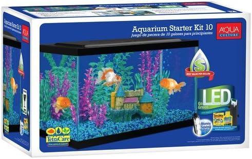 Aqua Culture Starter 10-Gallon Fish Tank Kit