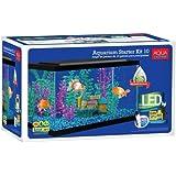 Aqua Culture 10 Gallon Aquarium Starter Kit with LED