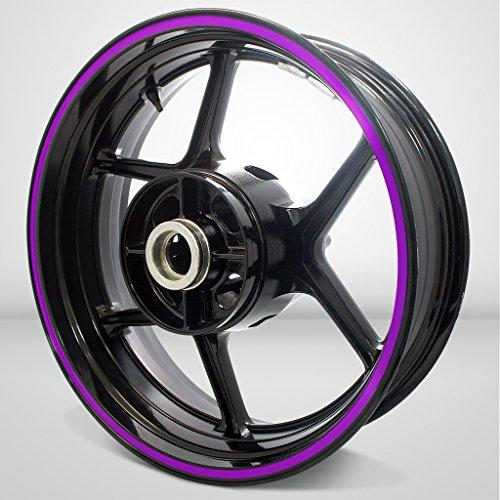 Thick Outer Rim Liner Stripe for Kawasaki Ninja 650 Matte Purple