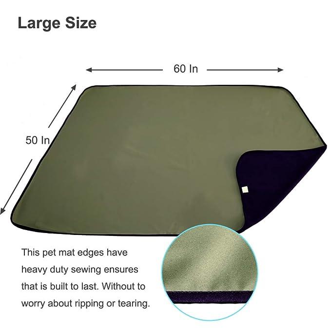 Amazon.com: AMOFY - Alfombrilla de forro polar impermeable ...