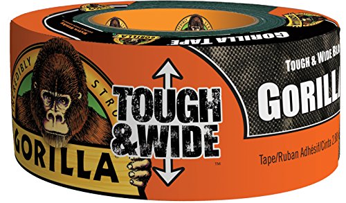 Gorilla 6003001 Tough & Wide  Duct Tape, 2.88-Inch x 30-Yards (Wide World Furniture)
