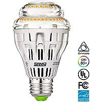 Sansi A1915W (150–125W equivalente) LED de cerámica Bombillas–intensidad regulable, 2000LM, CRI 80+, Medio de E26Base de Tornillo Home iluminación, UL Listed, FCC, la energía Certified