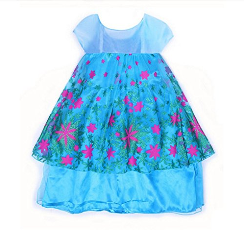 Rush Dance Disguise Princess Birthday Fever Celebration Dress Costume Cosplay (4T-5T (110))