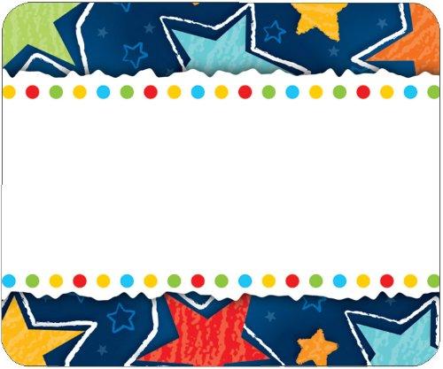 (Carson Dellosa Stars Name Tags (150010))