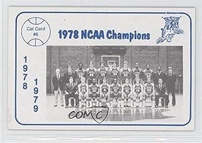 Kentucky Wildcats Team (Basketball Card) 1978-79 Foodtown University of Kentucky Wildcats - [Base] #6