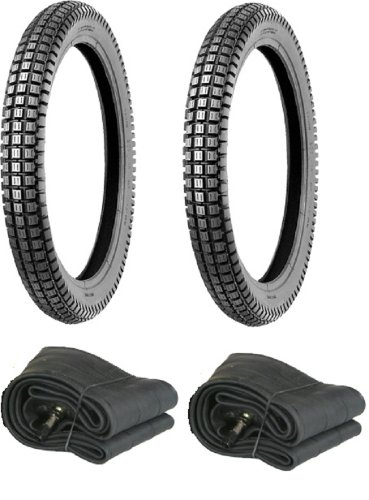 Full Set of Honda CT110 or CT90 TRAIL MASSFX Tires and Tubes 1 Front tire 1 Rear tire 2 new tubes (Honda Motorcycle Parts)