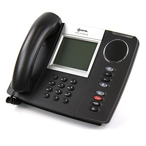 Mitel 5235 IP Phone, Dark Grey (Dual Mode) Part# 50004310 (Certified Refurbished) by Mitel